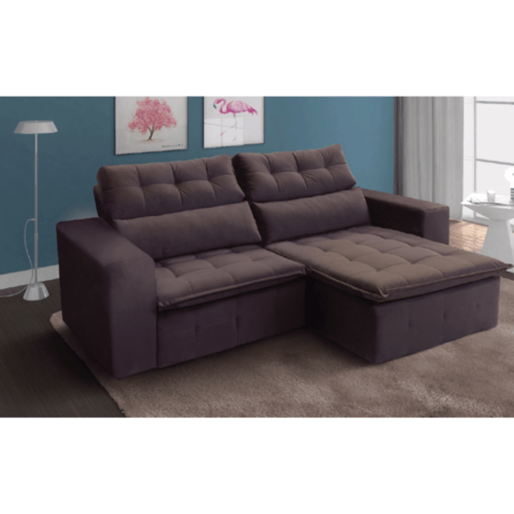 Wondrous Sofa Retratil E Reclinavel Tozatto Paris 2 25M Tecido Pena Evergreenethics Interior Chair Design Evergreenethicsorg