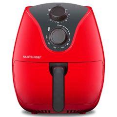 Fritadeira-Eletrica-Air-Fryer-Vermelha