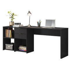 Mesa-de-Home-Office-Notavel-com-Gaveta-Preto