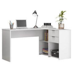 Mesa-de-Home-Office-Notavel-com-Gaveta-Branco