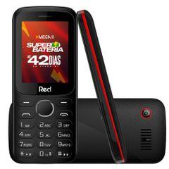Celular-Red-Mega-II-Preto-e-Vermelho