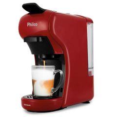 Cafeteira-Philco-Expresso-Multixcapsulas-Vermelho